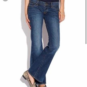 LUCKY Lil Maggie Low-Rise Flared Denim Jeans👖